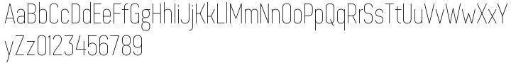 Dinesqo 4F™ Font Sample