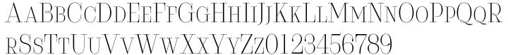 Serifiqo 4F Font Sample