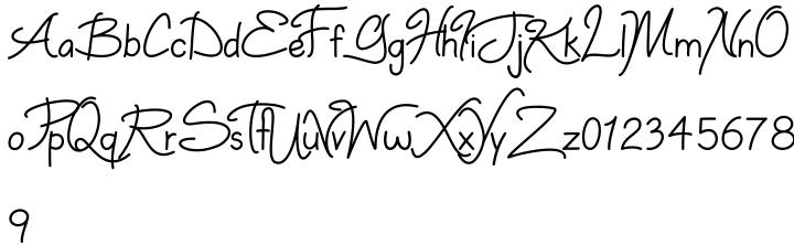 Dinzy Minzy Font Sample