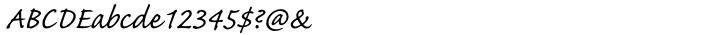 Caflisch Script Pro® Font Sample