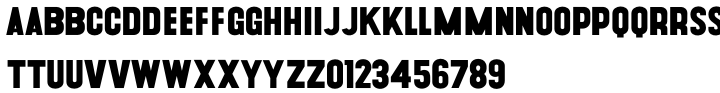 Cougher Font Sample