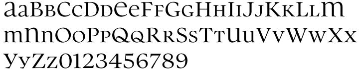 Parity™ Font Sample