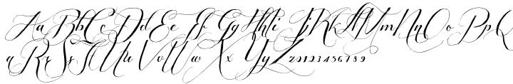 Shipped Goods 1™ Font Sample