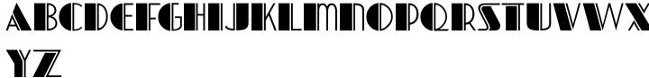 Nightspot JNL Font Sample
