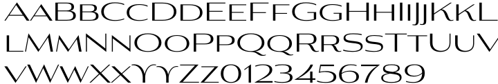 Aviano Contrast™ Font Sample