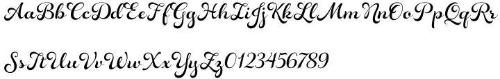 Rosarian Font Sample
