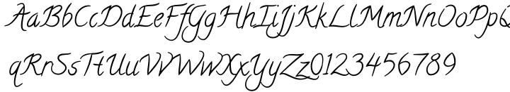 Calligraffiti Pro™ Font Sample