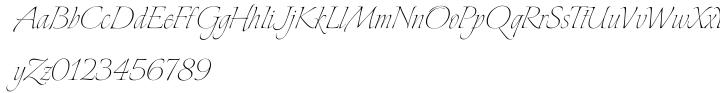Explora Font Sample