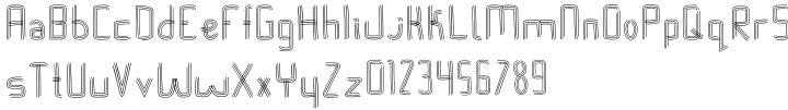 Stink Lines Font Sample