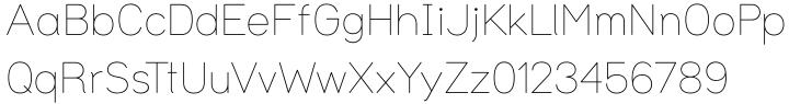 Uma Font Sample