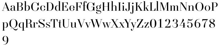Seravee Font Sample