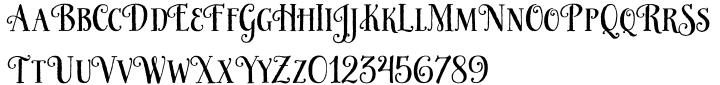 HoneyBee Font Sample