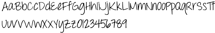 Throw My Hands Up In The Air Font Sample