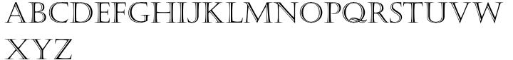 Castellar® Font Sample