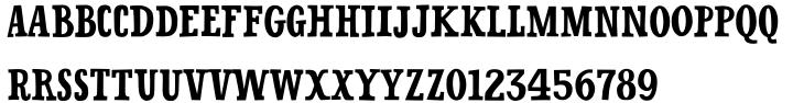 Oklahoma Pro Font Sample