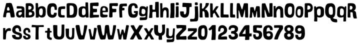 Bosque Font Sample