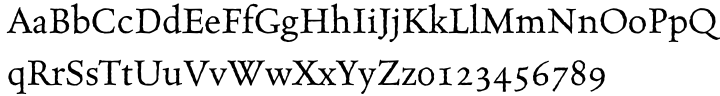 MVB Celestia Antiqua® Font Sample