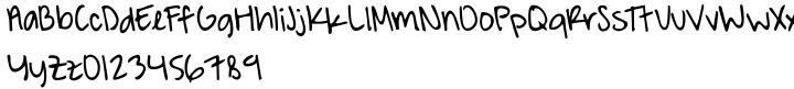 A Hundred Miles Font Sample