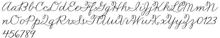 Madelinette™ Font Sample
