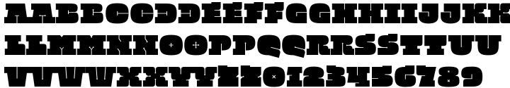 Quadratish Serif™ Font Sample