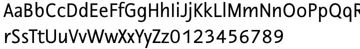 Nautilus Monoline™ Font Sample