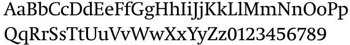 Neue Swift® Font Sample