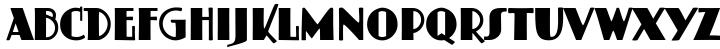 Schildersblad Capitals Font Sample