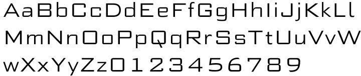 Morris Sans® Font Sample