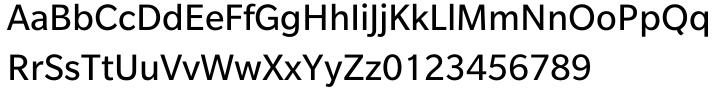 Slate™ Font Sample