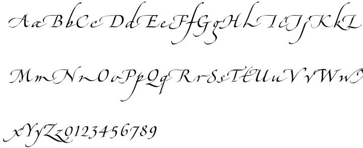 Hamada™ Font Sample