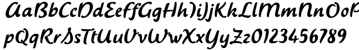 Saussa™ Font Sample