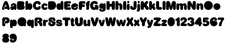 Snoogle™ Font Sample