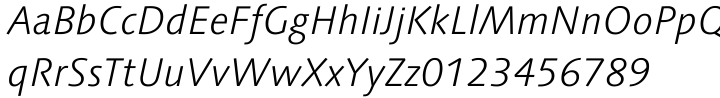Linotype Syntax® Font Sample
