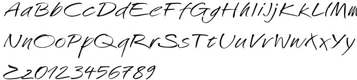 Challenger™ Font Sample