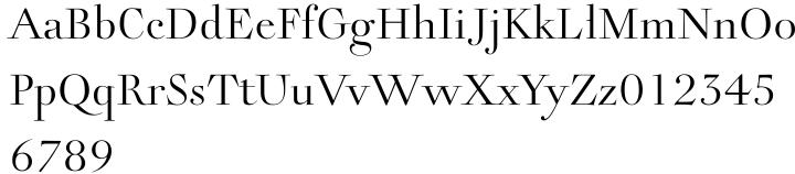 Rameau™ Font Sample