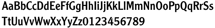 Clearface Gothic™ Font Sample