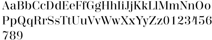 Trivia Serif™ Font Sample