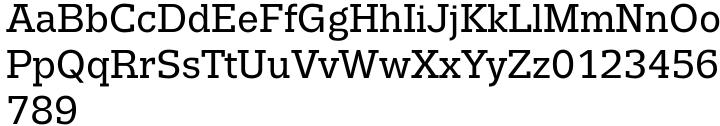 Trivia Slab™ Font Sample