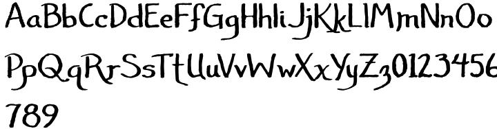 Janda Amazing Grace Font Sample