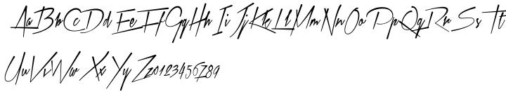 Xtreem™ Font Sample