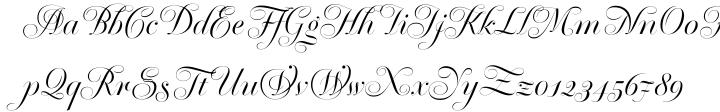Krul Font Sample