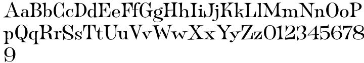 Filmotype Panama™ Font Sample