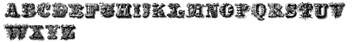 Santerini Initials™ Font Sample