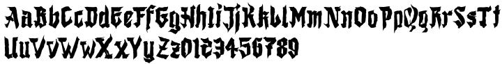 Shodo Gothic Font Sample