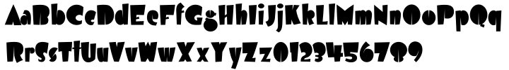 Airmole™ Font Sample