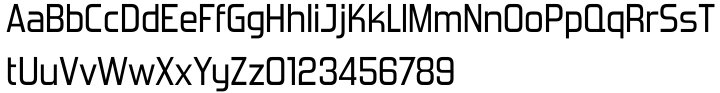 Forgotten Futurist™ Font Sample