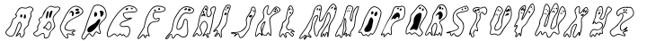 Groovy Ghosties™ Font Sample