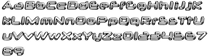 Neurochrome™ Font Sample