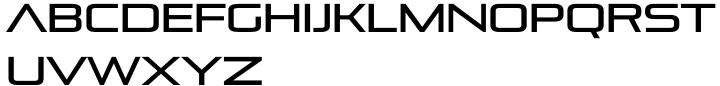 Pirulen™ Font Sample
