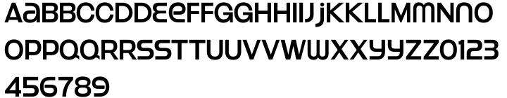 Strenuous™ Font Sample